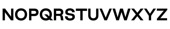 Good Sans Bold Font UPPERCASE