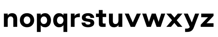 Good Sans Bold Font LOWERCASE