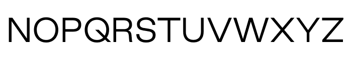 Good Sans Light Font UPPERCASE
