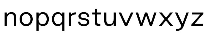 Good Sans Light Font LOWERCASE