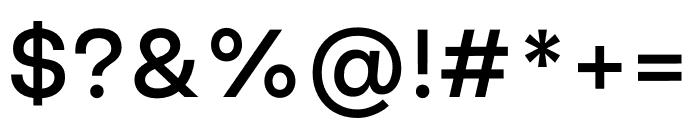 Good Sans Medium Font OTHER CHARS