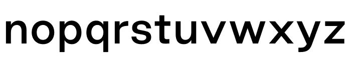 Good Sans Medium Font LOWERCASE