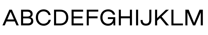 Good Sans Regular Font UPPERCASE