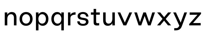 Good Sans Regular Font LOWERCASE
