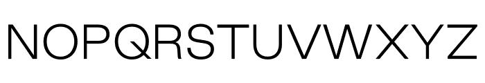 Good Sans Thin Font UPPERCASE