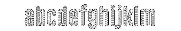 Gothic Lab Tigre SD Font LOWERCASE