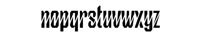 Greco Normal Font LOWERCASE