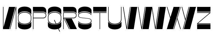 Gustella Inline Light Font UPPERCASE