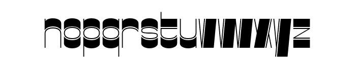 Gustella Inline Light Font LOWERCASE