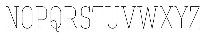 Hagin Caps Thin Thin Font UPPERCASE