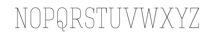 Hagin Caps Thin Thin Font LOWERCASE