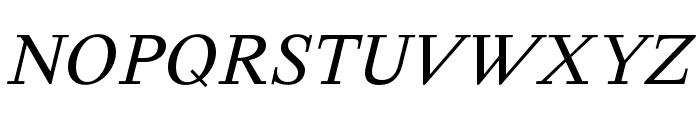 Happy Times NG Italic Font UPPERCASE
