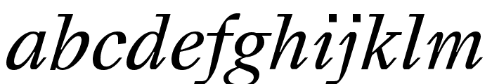 Happy Times NG Italic Font LOWERCASE