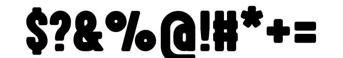 Highvoltage Heavy Font OTHER CHARS