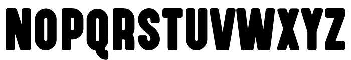 Highvoltage Heavy Font UPPERCASE