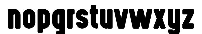 Highvoltage Heavy Font LOWERCASE