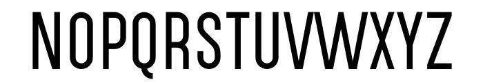 Highvoltage Thin Font UPPERCASE