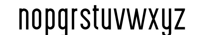 Highvoltage Thin Font LOWERCASE