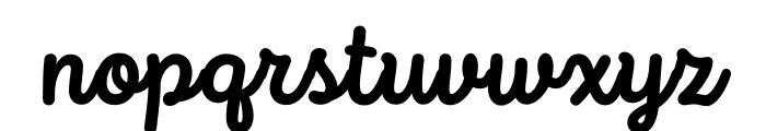 Intro Script Bold Font LOWERCASE