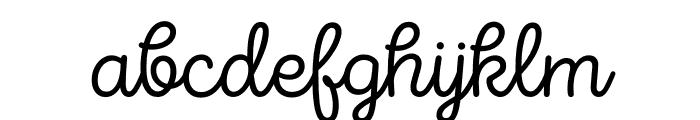 Intro Script Light Font LOWERCASE