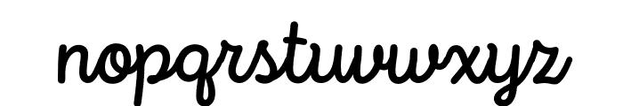 Intro Script Medium Font LOWERCASE