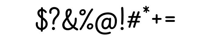 Intro Script Regular Font OTHER CHARS