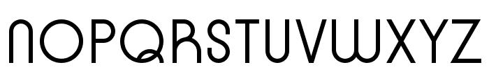 Kobe Regular Font UPPERCASE