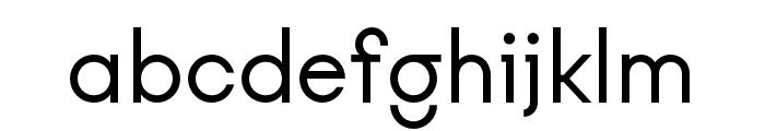 Kobe Regular Font LOWERCASE