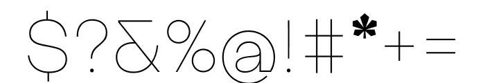Kyiv Type Sans Font OTHER CHARS