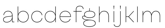 Kyiv Type Sans Font LOWERCASE