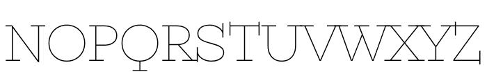 Kyiv Type Serif Font UPPERCASE