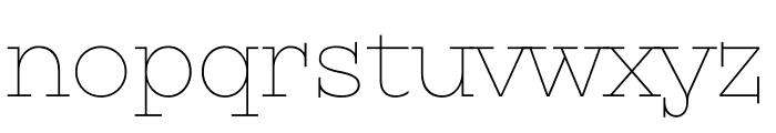 Kyiv Type Serif Font LOWERCASE