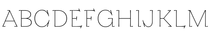 Kyiv Type Titling Font UPPERCASE