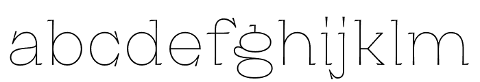 Kyiv Type Titling Font LOWERCASE