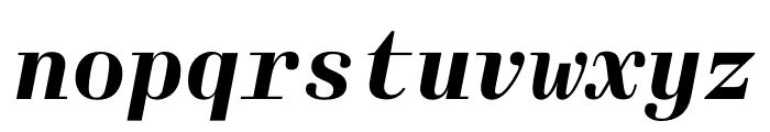 Laplace Mono Bold Italic Font LOWERCASE