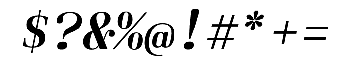 Laplace Mono Italic Font OTHER CHARS