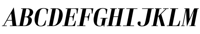 Laplace Mono Italic Font UPPERCASE
