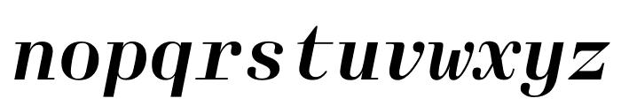 Laplace Mono Italic Font LOWERCASE