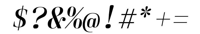 Laplace Mono Light Italic Font OTHER CHARS
