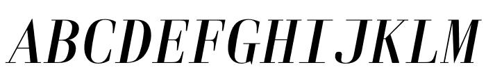Laplace Mono Light Italic Font UPPERCASE