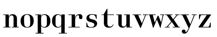 Laplace Mono Regular Font LOWERCASE