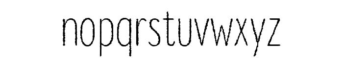 Lonne Rough Light Font LOWERCASE