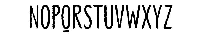 Lonne Rough Semi Bold Font UPPERCASE