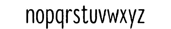 Lonne Rough Semi Bold Font LOWERCASE