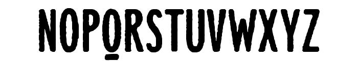 Lonne Rough Ultra Bold Font UPPERCASE