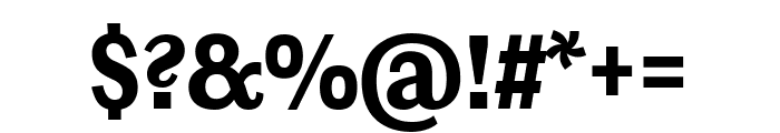 Ludwig Condensed Black Font OTHER CHARS