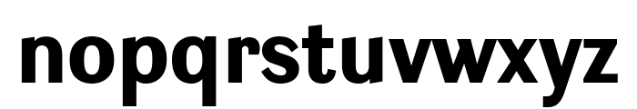 Ludwig Condensed Black Font LOWERCASE