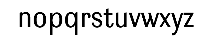 Ludwig Condensed Blond Font LOWERCASE