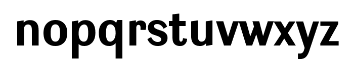 Ludwig Condensed Bold Font LOWERCASE