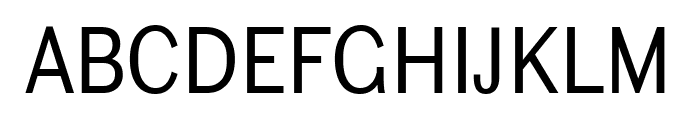 Ludwig Condensed Light Font UPPERCASE
